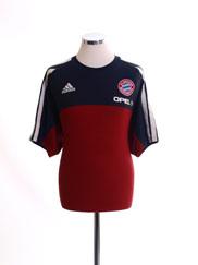 2001-02 Bayern Munich Training Shirt L