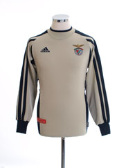 2001-02 Benfica Goalkeeper Shirt Y