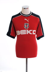 2001-02 Besiktas Third Shirt M