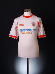 2001-02 Blackpool Away Shirt M