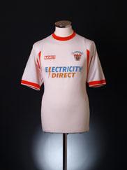 2001-02 Blackpool Away Shirt M