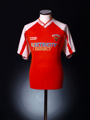 2001-02 Blackpool Home Shirt M