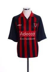2001-02 Bohemian FC Home Shirt XL