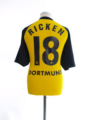2001-02 Borussia Dortmund Home Shirt Ricken #18 XL
