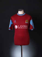 2001-02 Burnley Home Shirt M