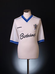 2001-02 Bury Home Shirt XL