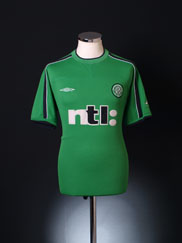 2001-02 Celtic Umbro Training Shirt M