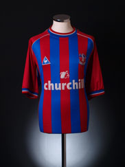 2001-02 Crystal Palace Home Shirt XXL