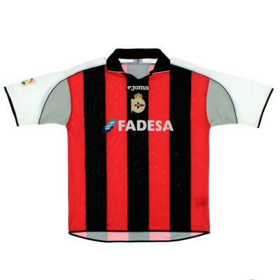 2001-02 Deportivo Away Shirt XL