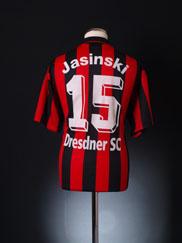 2001-02 Dresdner SC Home Shirt Jasinski #15 L/XL