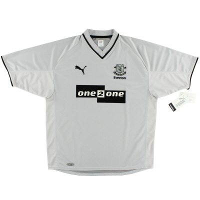 2001-02 Everton Away Shirt *BNWT* L