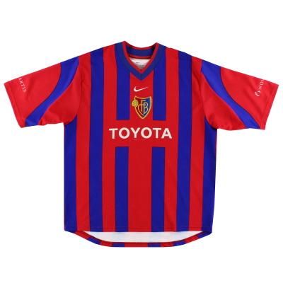 2001-02 FC Basel Home Shirt L
