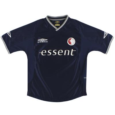 2001-02 FC Twente Umbro Away Shirt M