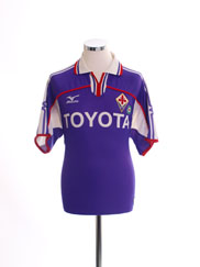 2001-02 Fiorentina Home Shirt M