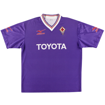 2001-02 Fiorentina Mizuno Training Shirt XL