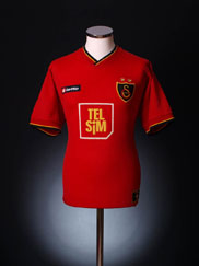 2001-02 Galatasaray Third Shirt L