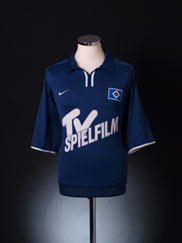 2001-02 Hamburg Away Shirt XL