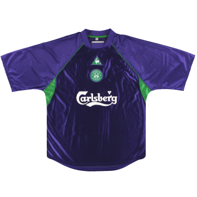 2001-02 Hibernian Le Coq Sportif Away Shirt M