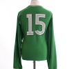 2001-02 Ireland Match Issue Home Shirt #15 L/S XL