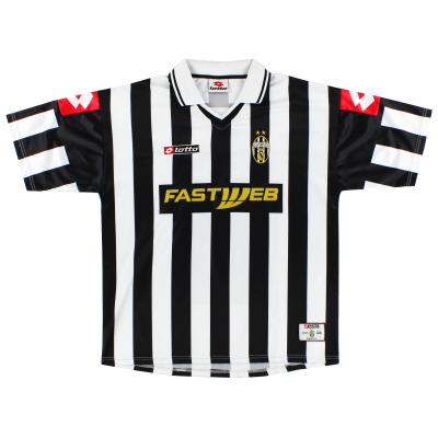 2001-02 Juventus Lotto Home Shirt XL