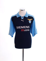 2001-02 Lazio European Away Shirt L