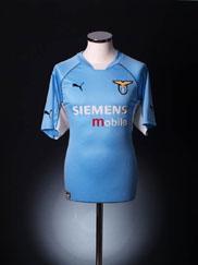 2001-02 Lazio Home Shirt XL