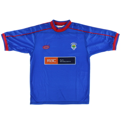 2001-02 Linfield Home Shirt S