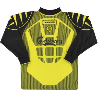 2001-02 Liverpool Reebok Goalkeeper Shirt S