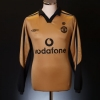 2001-02 Manchester United Centenary Reversible Away Shirt L/S L