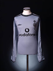 2001-02 Manchester United Centenary Goalkeeper Shirt XL