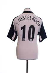 2001-02 Manchester United Centenary Away Shirt v.Nistelrooy #10 L