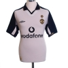 2001-02 Manchester United Centenary Away Shirt Veron #4 M