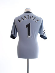 2001-02 Manchester United CL Goalkeeper Shirt Barthez #1 M