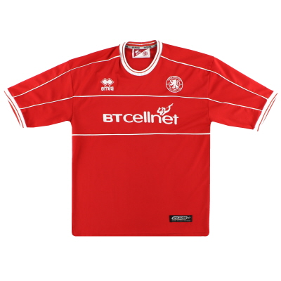 2001-02 Middlesbrough Errea Home Shirt M