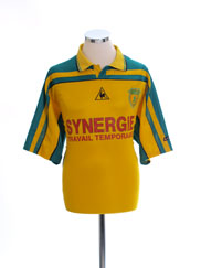 2001-02 Nantes Home Shirt L