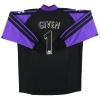 2001-02 Newcastle adidas Goalkeeper Shirt Given #1 M