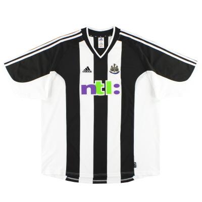 2001-03 Newcastle adidas Home Shirt L