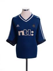 2001-02 Newcastle Away Shirt XXL
