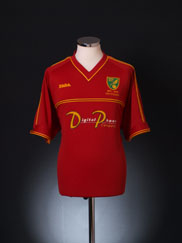 2001-02 Norwich City Centenary Away Shirt L