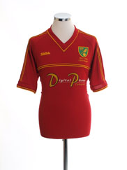 2001-02 Norwich City Centenary Away Shirt M