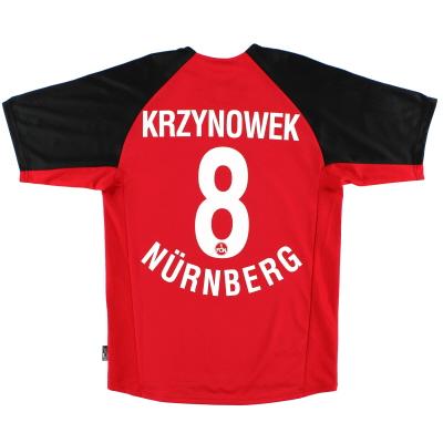 2001-02 Nurnberg Home Shirt Krzynowek #8 S