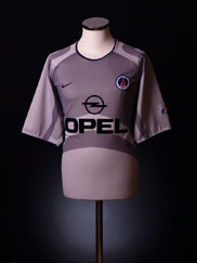 2001-02 Paris Saint-Germain Away Shirt XL