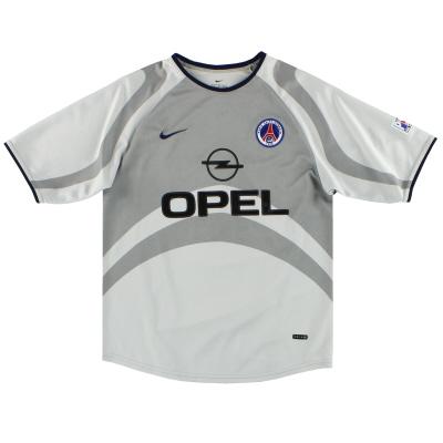 2001-02 Paris Saint-Germain Nike Away Shirt L.Boys