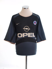 2001-02 Paris Saint-Germain Third Shirt XXL