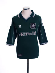 2001-02 Plymouth Home Shirt XL