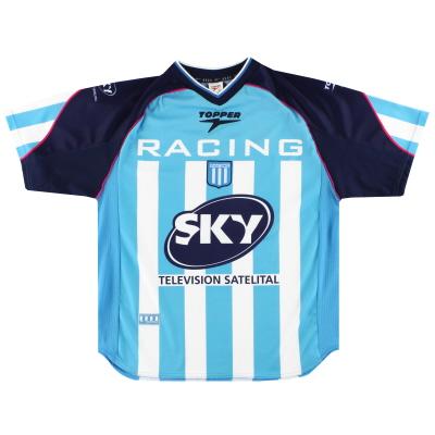 2001-02 Racing Club Home Shirt XL
