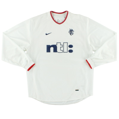 2001-02 Rangers Away Shirt L/S L