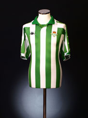 2001-02 Real Betis Home Shirt XL