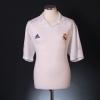 2001-02 Real Madrid Centenary Home Shirt Zidane #5 L
