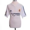 2001 Real Madrid Centenary Home Shirt Figo #10 M